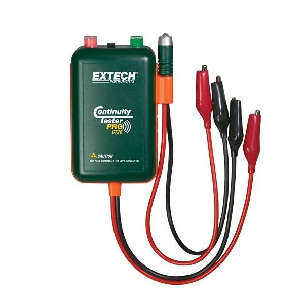 extech continuity tester pro ct20 manual