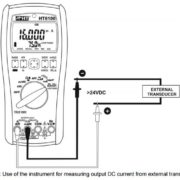 Measuring DC Current from External Transducers