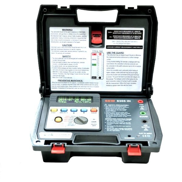 SEW 6305IN 5kV High Voltage Digital Insulation Tester