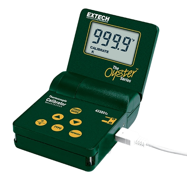 Extech 433201 Thermocouple Calibrator Thermometer
