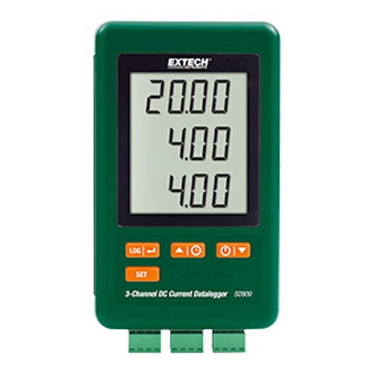 Extech SD900 3 Channel DC Current Datalogger