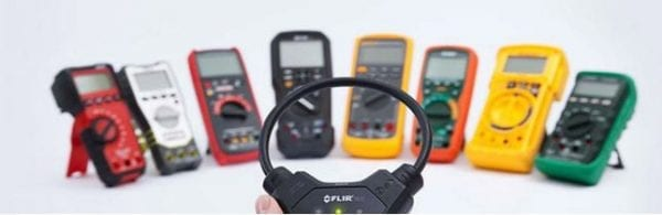Compatible with most DMMs and clamp meters