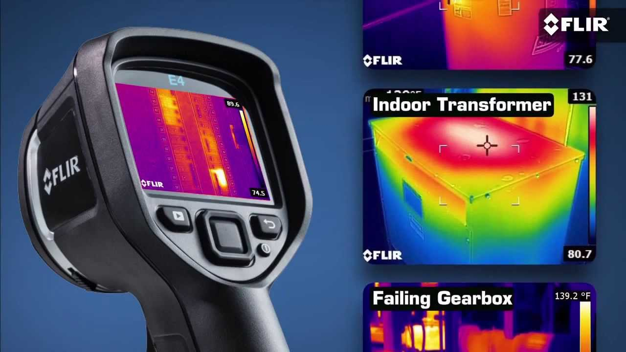 Flir E4 Thermal Imaging Camera With Msx Leda Electronics