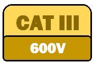 CAT III 600V