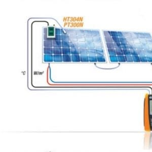 HT Italia SOLAR I-Vw Multifunction I-V curve tracer - Leda Electronics