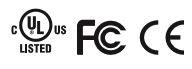UL  FCC  CE
