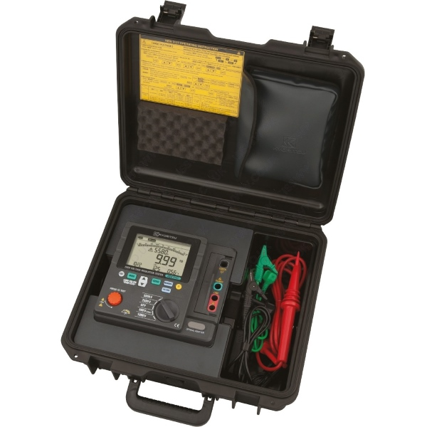 Kyoritsu 3127 5kv High Voltage Insulation Tester Leda