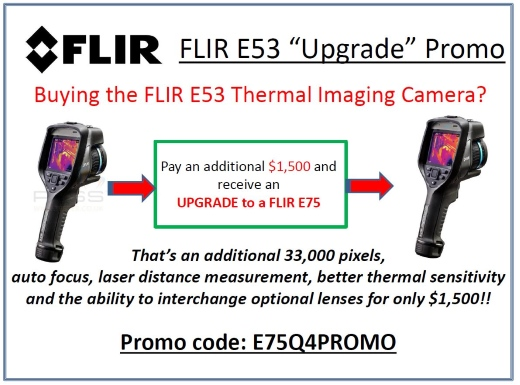 Flir E53 Bonus from Leda Electronics in Perth
