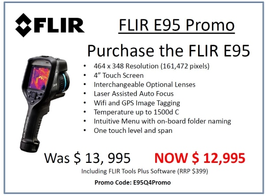 Flir E53 Promotion from Leda Electronics in Perth